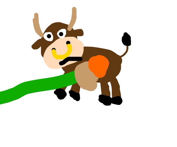 Painting of a bull