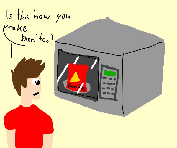 Cooking Hot Doritos