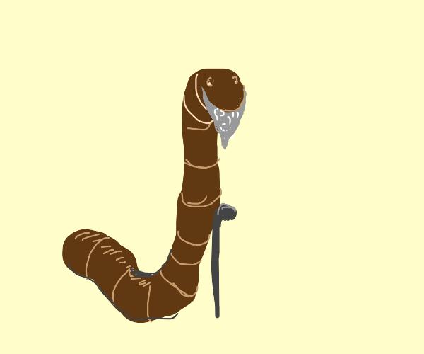 Old Earthworm