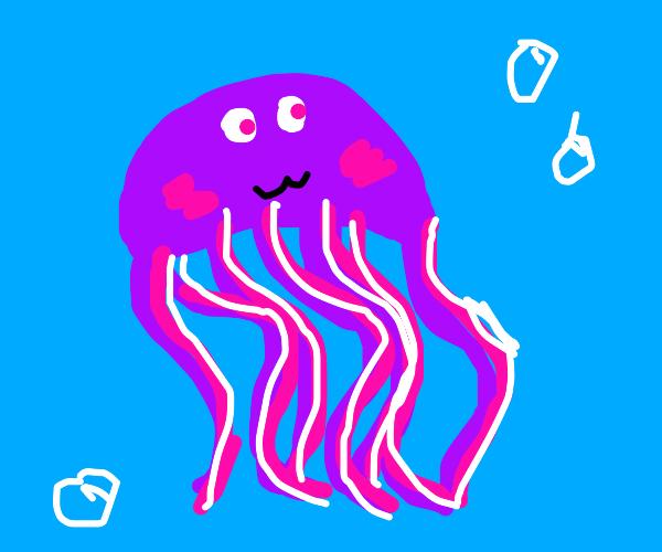 dazzling jellyfish