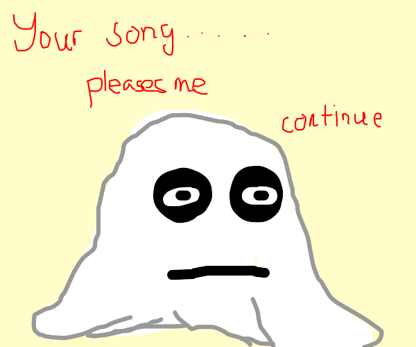 Ghosts demand you to continue song