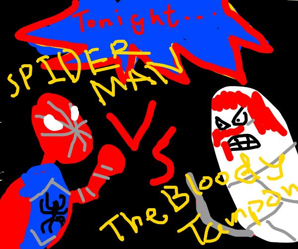 Superhero VS Tampon!!
