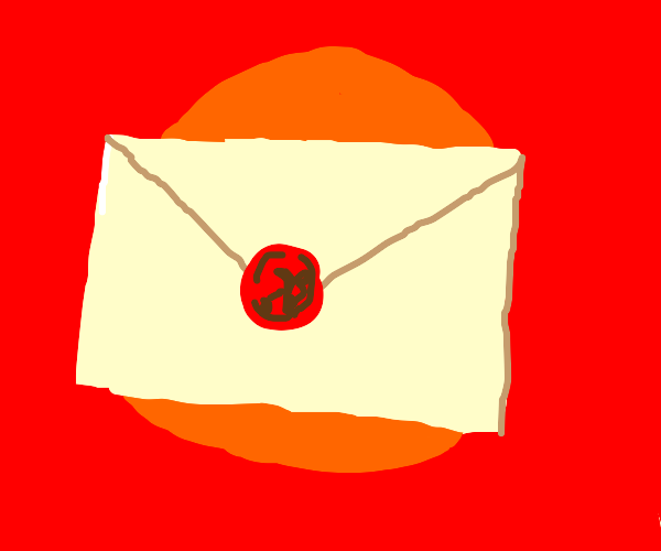 Mail with a wax seal