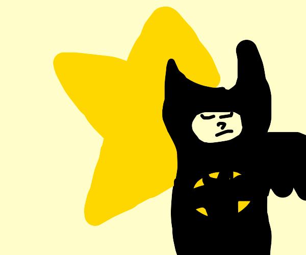 Batman on a Star