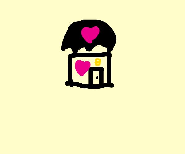 bubble tea shop :D cute lel