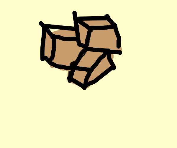 pile of packages