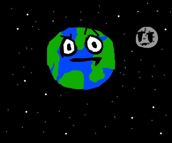 earth confused
