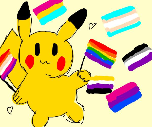 Pikachu Pride Month