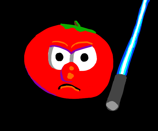 bob the tomato is luke skywalker