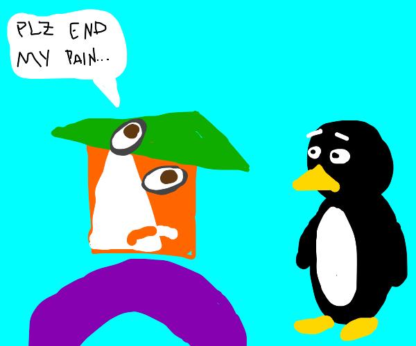 picasso tells penguin to kill him