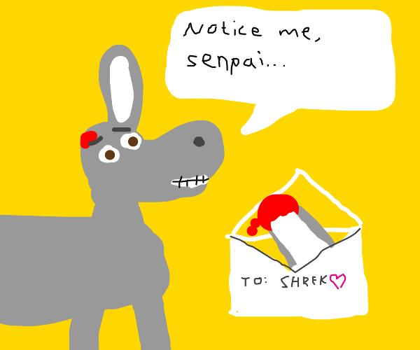 Donkey Van Gogh