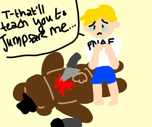 fnaf kid gets his revenge