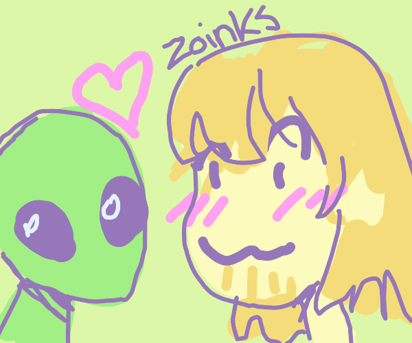 Shaggy falls in love with an alien
