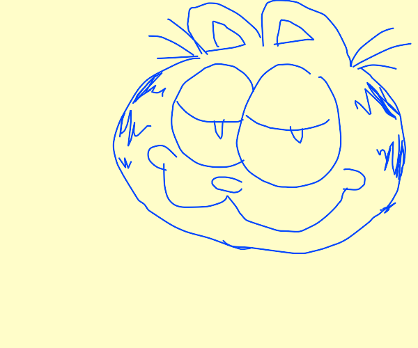 Blue Garfield