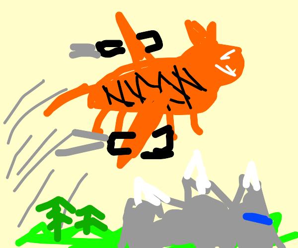tiger flyin