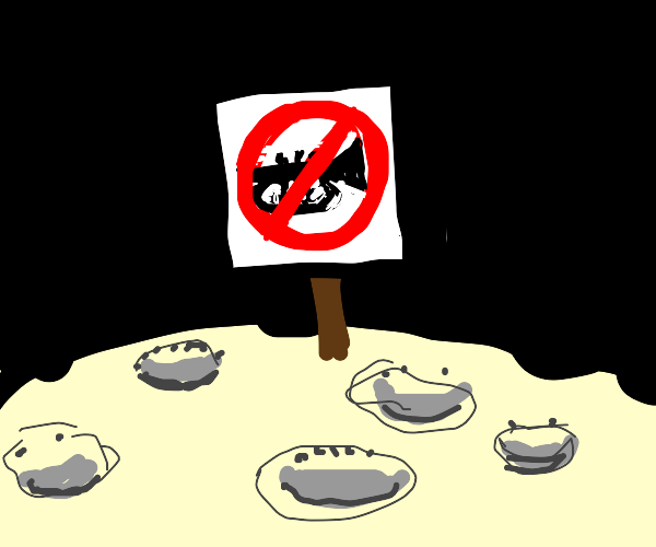 No trumpets allowed on the moon