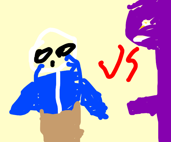 sans vs man behind the slaughter