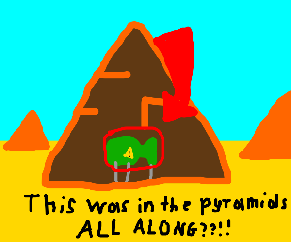 The Pyramids have Tactical Nukes in them