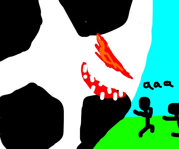 Evil soccer ball haunts people