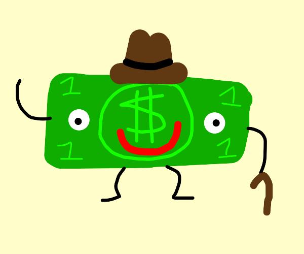 Mr dollar bill