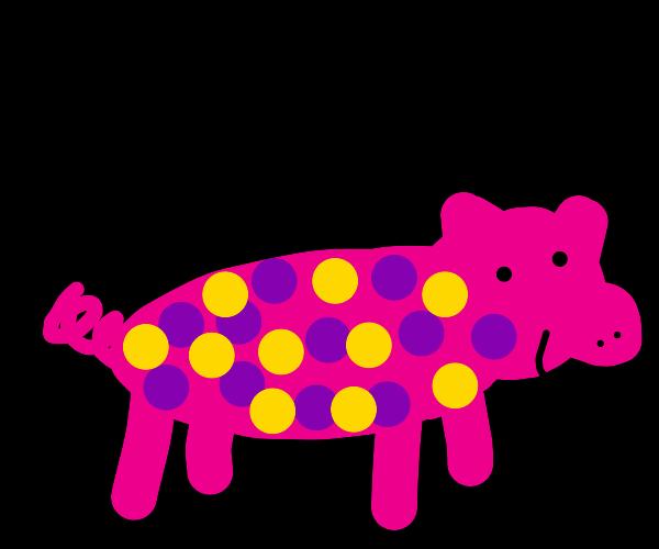 Polkadot Pig