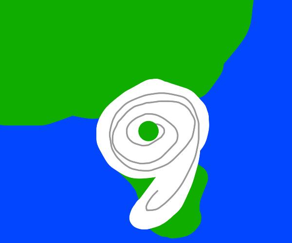 Hurricane comma