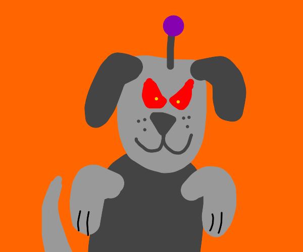 Evil robo-dog