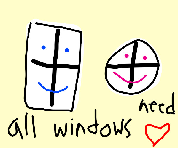 We all love windows for who they are