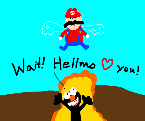 The ascension of Mariofrom thehellmo