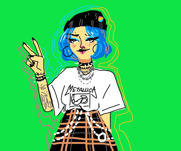 An Alt (key) girl