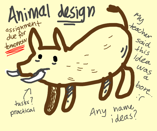 Boar Concept Art