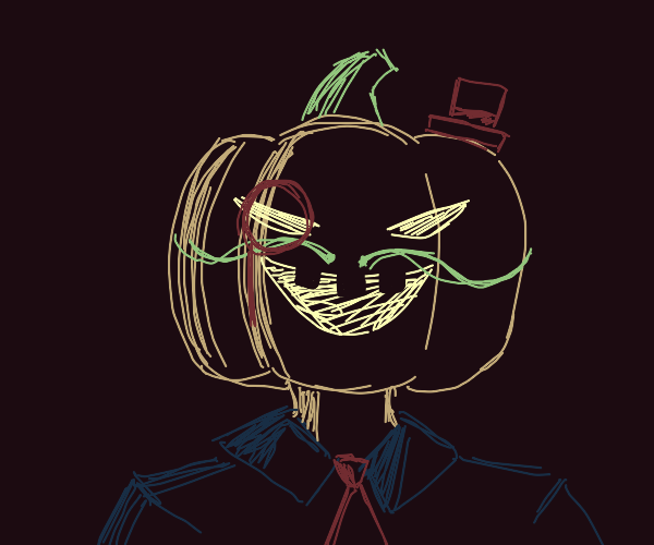 sophisticated and rich mr pumpkin