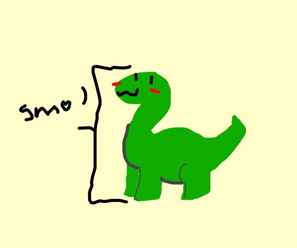 Baby dinosaur awwww