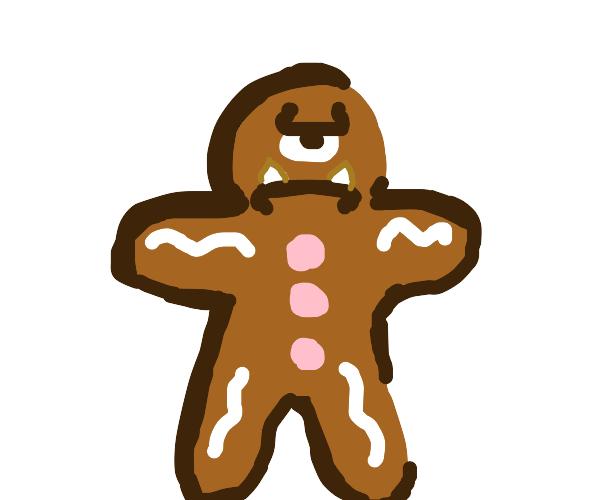 Gingerbread cyclops