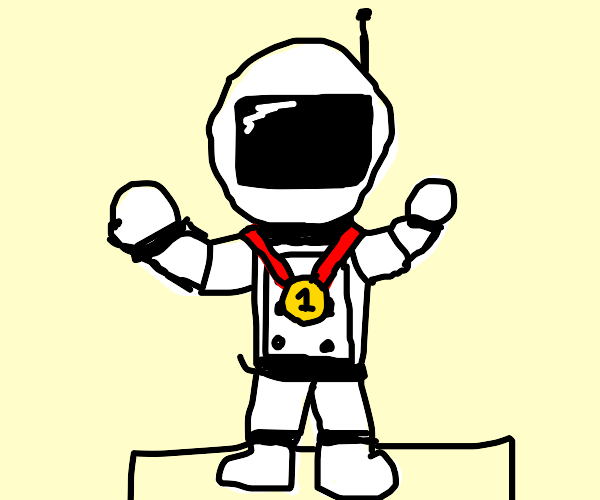 First Place Astronaut