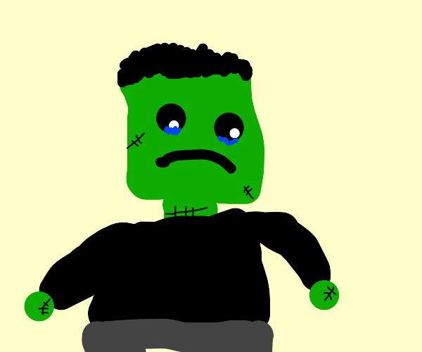 depressed frankenstein