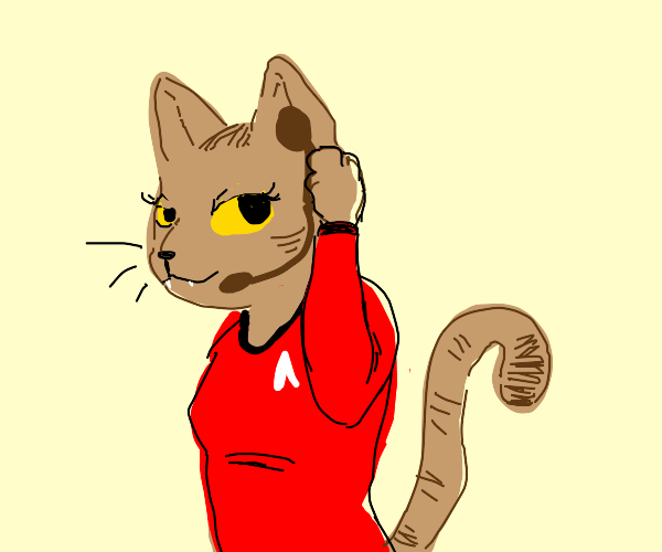 Star Trek Cat Lady