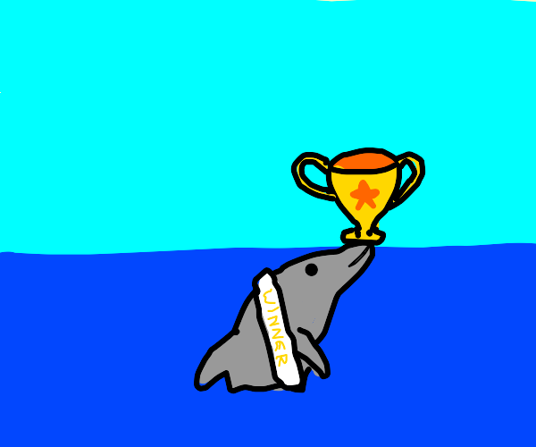 Victorious Dolphin