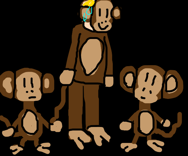 Monkey is the imposter