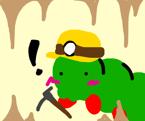 Caterpillar underground