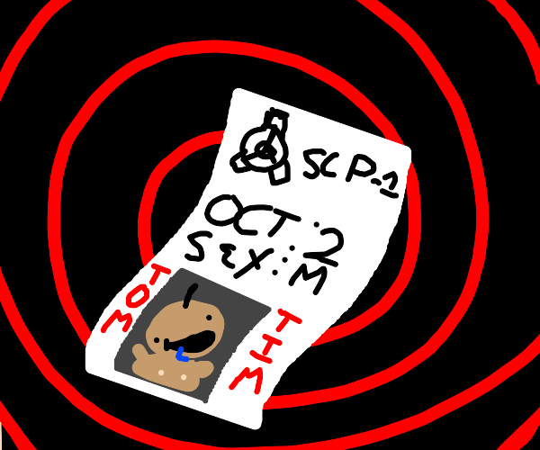 Birth certificate but written by a SCP author