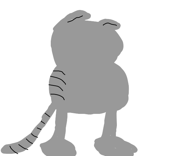 Nermal lost his face