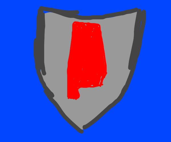 Alabama shield?