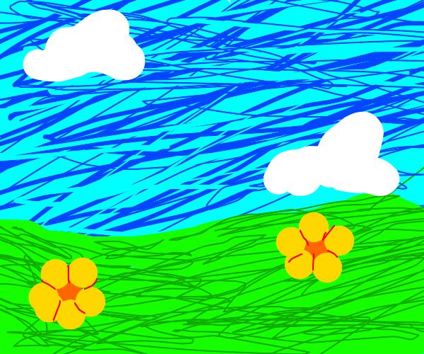 draw me a desktop background :)