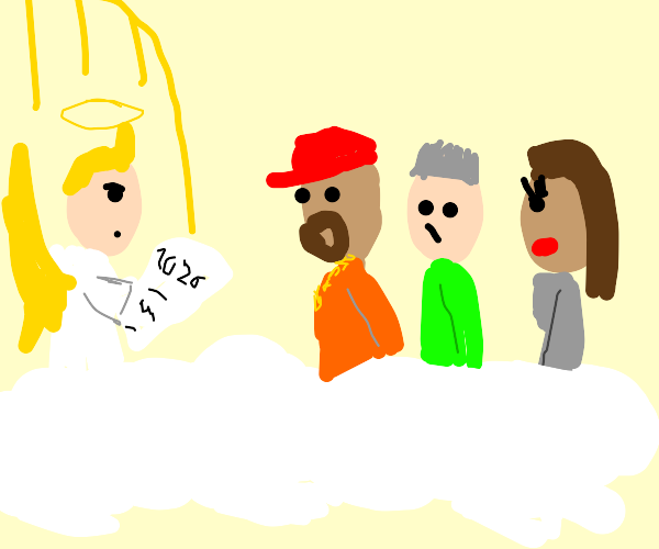 2020 Celebrities in Heaven