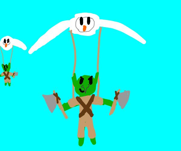 How goblins ride birds