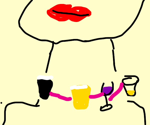 Alcoholic Necklace