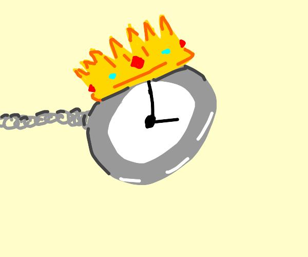 King pocket watch