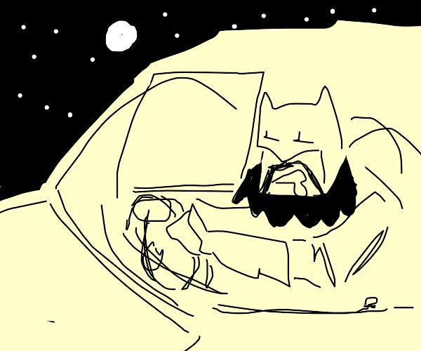 old ass batman needs a rest