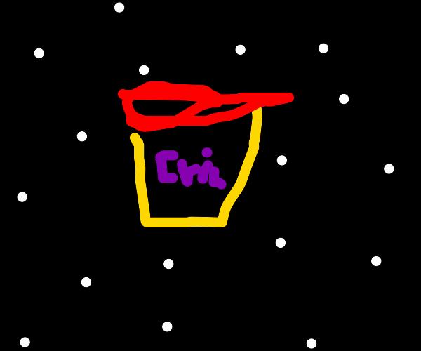 Dangerous Playdough in space